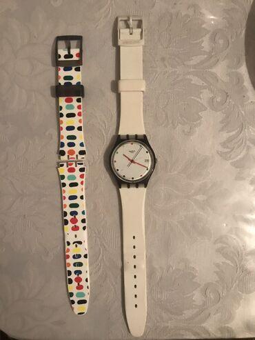 Белые Женские Наручные часы Swatch