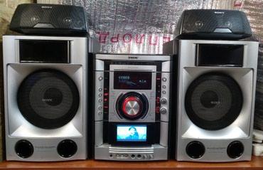 Аудиотехника - Кок-Ой: Музыкальный центр sony 180x2 80x2 Bluetooth mp3 usb dvd встроен диспле
