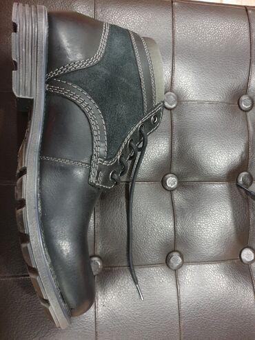 Ботинки CLARKS из натуральной кожи,осенне-зимние без меха, чисто