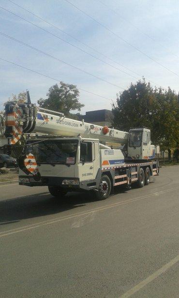Услуги Автокрана! Мы предоставляем услуги автокрана по Бишкеку а также в Бишкек - фото 8