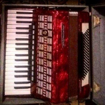 """Срочно продам аккордеон """" weltmeister serina """" размер 7/8 в отличном с в Чон-Сары-Ой"""