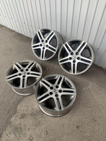 Honda ( odyssey )диаметр r17разболтовка 5*114.3ширина 7jвылет 50диски