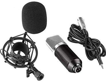 Музыкальные инструменты - Бишкек: Студийный микрофон BM-700 Бишкек  Основная особенность: ● принимает э