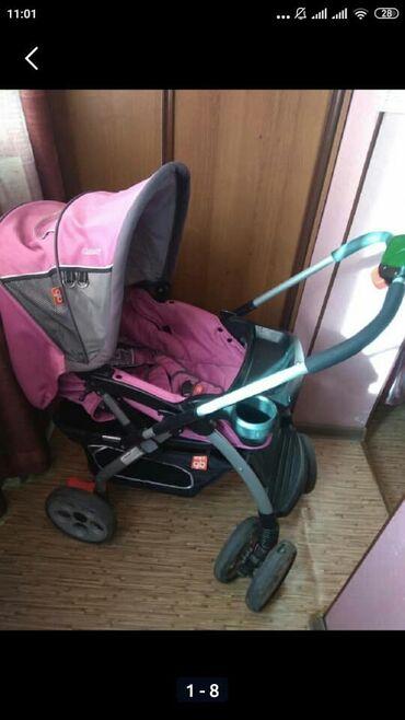 купить качалку детскую в Кыргызстан: Продаю детскую коляску : зима-лето. 3 положения, в отличном состоянии