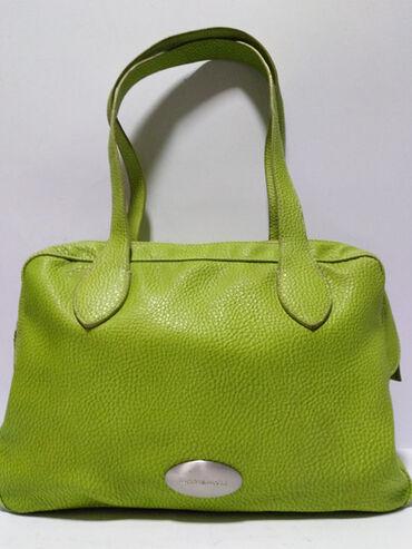 Mona torba - Srbija: MORE&MORE ITALY original kožna velika torba,prirodna vrhunska