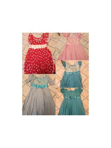 молодежные платья 50 размера в Кыргызстан: Платья новые размеры от4-6лет. Самопашив