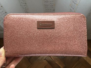 Ostalo | Novi Banovci: Stradivarius novčanik, prljavo roze šljokice