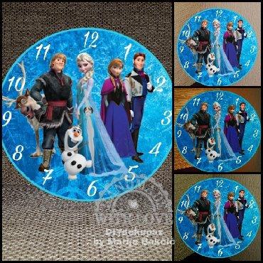 SAT SA SLIKOM PO VASEM IZBORU(Frozen,Mini,spajdermen. )Zidni sat od