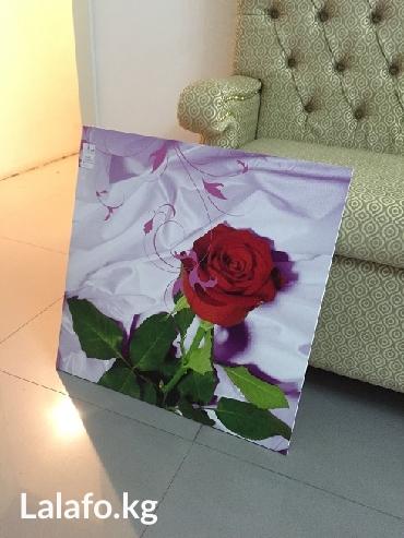 картина на фанере ,размер 60 см х 60 см -новая в Бишкек