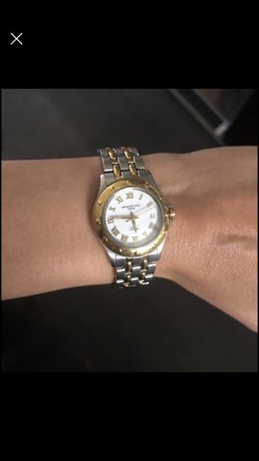 Raymond weill Geneve Tango two tone stainless σε Παιανία
