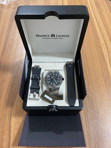 Gümüşü Kişi Qol saatları Maurice Lacroix