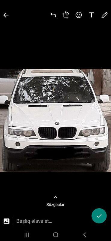 BMW - Model: X5 - Azərbaycan: BMW X5 4.4 l. 2002 | 353000 km