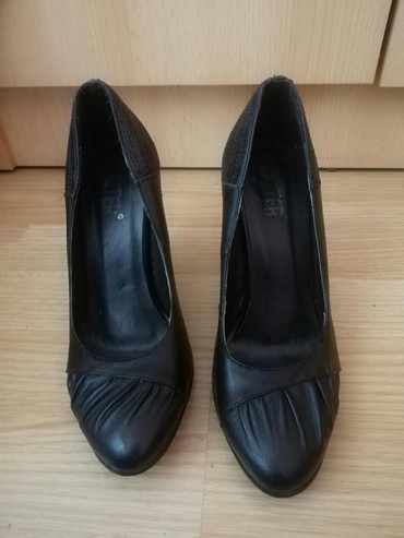 Bez-cipele-na-stiklu - Srbija: Klasicne crne zenske salonke,cipele na stiklu