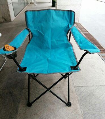 Stolica je u fabričkom pakovanju. Može biti još crvena ili siva boja