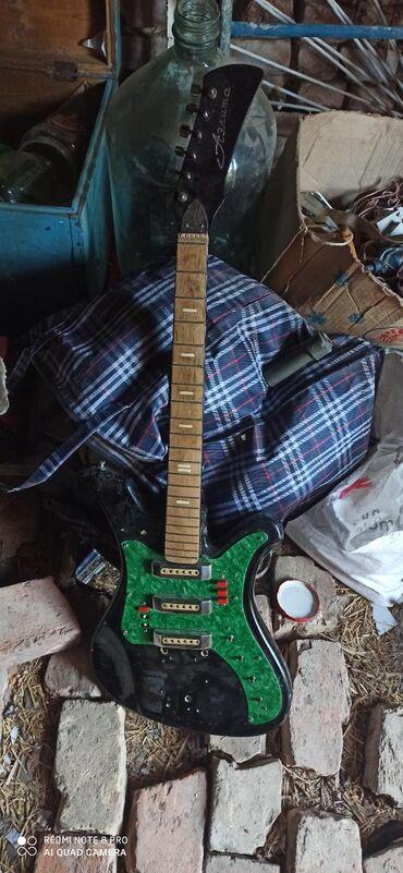 Гитары в Кемин: Электро гитара состояния плоховатая
