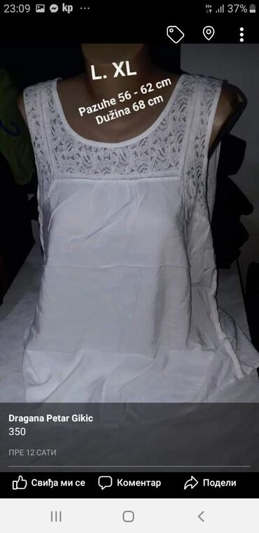 Majica L. XL pamyk