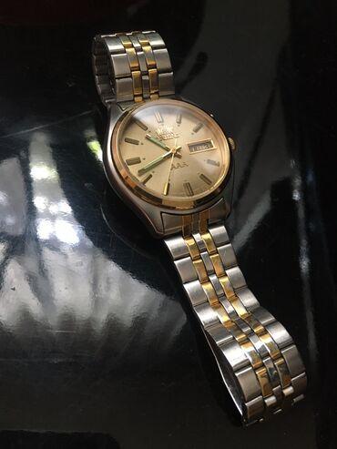 baletki 36 37 razmer в Кыргызстан: Золотистые Мужские Наручные часы Orient