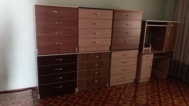 Другая мебель - Кыргызстан: Продаю Готовый новый комод Размер высота 85 Ширина 75  Также есть н