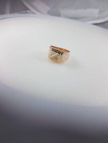 Печатка из красного золота 585проба размер кольца 21.5 в Бишкек