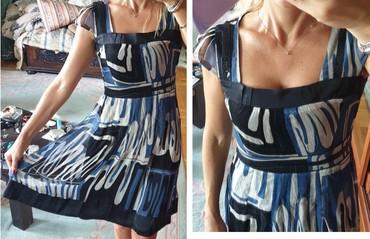 Crna sirena haljina - Srbija: Jako lepa kvalitetna svilena haljina, kao nova. Po rubovima diskretne
