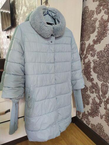 Куртка на позднюю осень, теплую зиму.  Размер S 500c