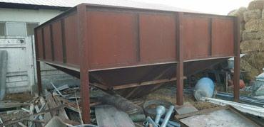 Бункер для песка, толщина метала 4мм в Лебединовка