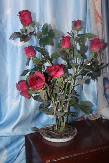 Продается очень красивый светильник (ночник) -розы в Бишкек