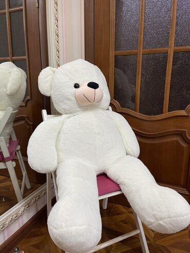 6595 объявлений: Продаю белого огромного мишку  Подарили, он совсем новый  Отличный под