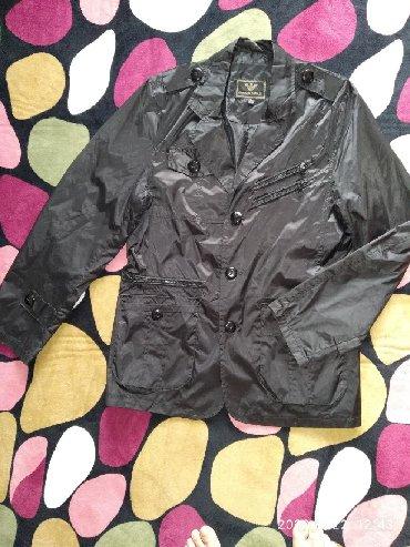 Мужская куртка-пиджак, Деми, размер xl, длина 78 см, длина рукава