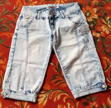 джинсы в шорты в Кыргызстан: Жен Шорты раз 46
