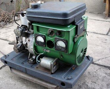 продаю военный электрогенератор аб1-0/230 бензиновый  б/у в хорошем в Беловодское
