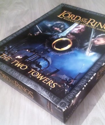 The lord of the rings – the two towers  društvena igra. Roleplaying - Beograd