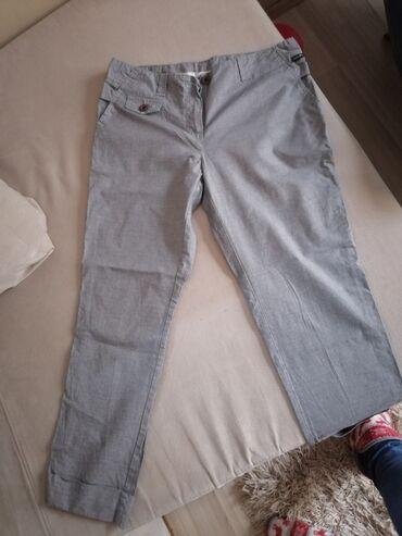Pantalone vekivina - Srbija: Ženske pantalone, veličina neki M. Jako lepe uživo, nove. Cena 300