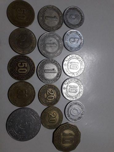 Монеты Алжир в Токмак