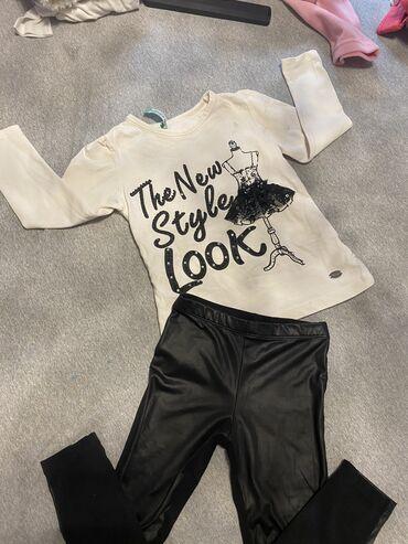 Kozne helanke i majica komplet 98 helanke su nosene majica nova u