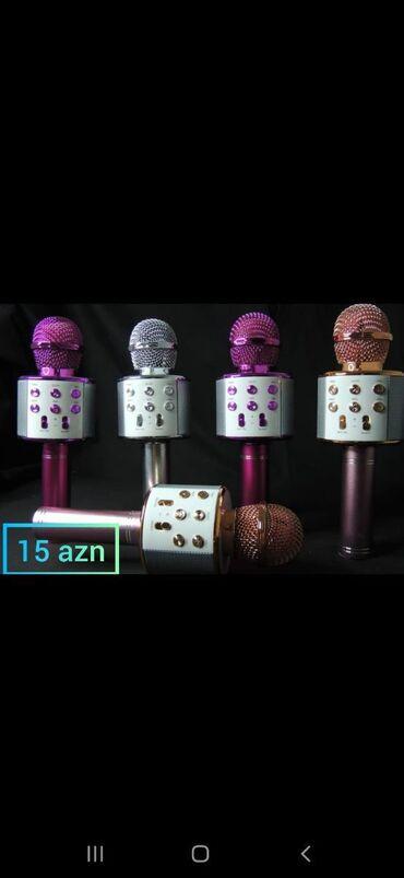 Mikrofonlar - Azərbaycan: Ən münasib qiymətlərə elektonik əşyalarin satışı.Qulaqliqlarsmart