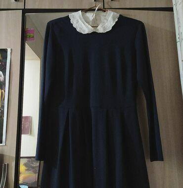 Платье, сарафан в школу. Брала в sela . Не ношенная,новая. Цвет темно