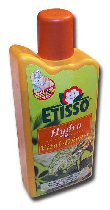 Hidroponik gübrə Almaniya Yarım litr3 litre 10 gram qatılır akvarium