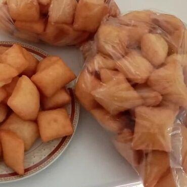 Продукты питания - Кыргызстан: Ассаляму алейкуму делаем очень вкусные боорсоки от души на заказ