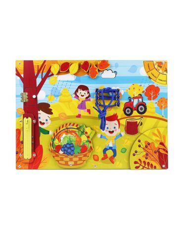 развивайка бизиборд в Кыргызстан: Бизиборд «Осень»,112310Бизиборд «Осень»,?изиборд «Осень» - это