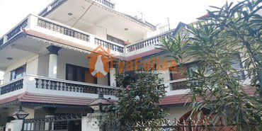 a beautiful and strong house having land area 0-6-0-0 of 2.5 stories, in Kathmandu
