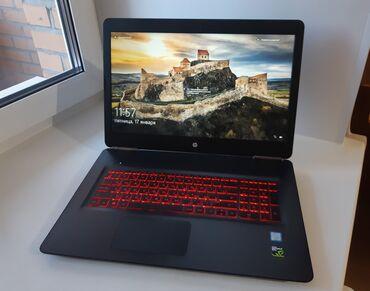 ucuz laptop fiyatları - Azərbaycan: HP OMEN Core i7 7700HQ+16 gb ram /NVIDIA GTX 1070 . 8 gb 256 bit ela