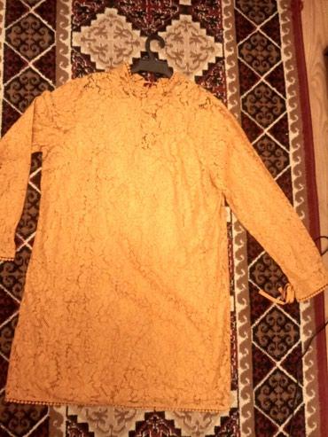 Платье гипюровое. Надевали один раз на в Бишкек