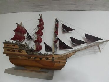 Продам красивый чудо корабль ручной работы размер 1 метр
