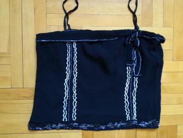 Crna bluza letnja vel L/XL. - Bajina Basta
