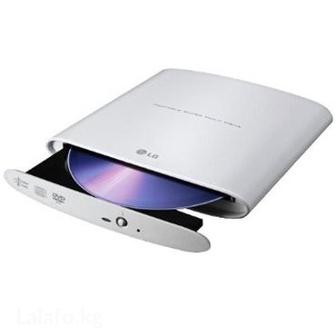 Внешний привод Dvdrw lg gp08 lite (8x dvd/ 24x cd, usb 2. 0, white в Бишкек