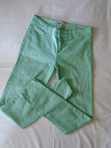 Mint zelene, skinny farmerke, nošene ali mogu još da se nose. Imaju - Belgrade