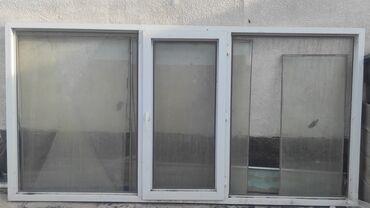 439 объявлений: Продаю пласт.Окна + подоконник, размер 260*130 г.Бишкек ж/м ак-ордo