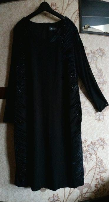 вечерне коктейльное платье в Кыргызстан: Платье Турция 50-52 разм, стрейч на подкладе, рукава прозрачные, пару
