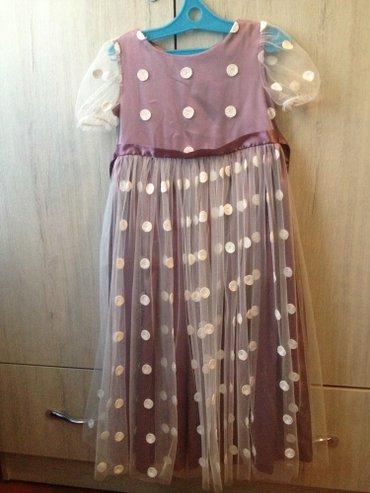 Платье на девочку 5-7 лет. Одевали несколько раз. в Бишкек
